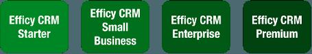 Packages fonctionnels Efficy CRM