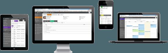 Logiciel CRM sur MAC, PC, tablette iPad, android, web