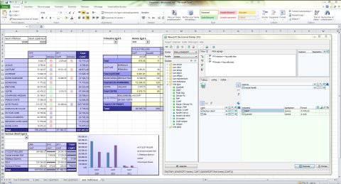 MyReport / Wavesoft décisionnel : reporting excel, tableaux de bord, portail web décisionnel