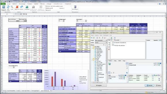 Tableau de bord excel, reporting sur Excel : MyReport