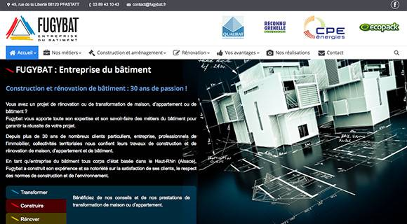 Création de site internet en Alsace