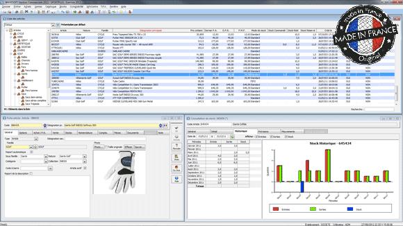 Logiciel de gestion ERP / PGI (Wavesoft)