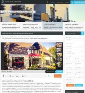 Création d'un site internet pour une agence immobilière à Mulhouse