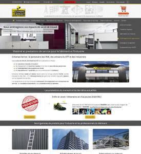 Création d'un site internet pour une entreprise du bâtiment aux environs de Colmar / Strasbourg