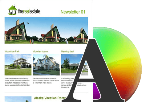 Design et template d'emailing moderne