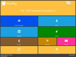 Nuxilog, ERP et PGI Wavesoft sur tablette