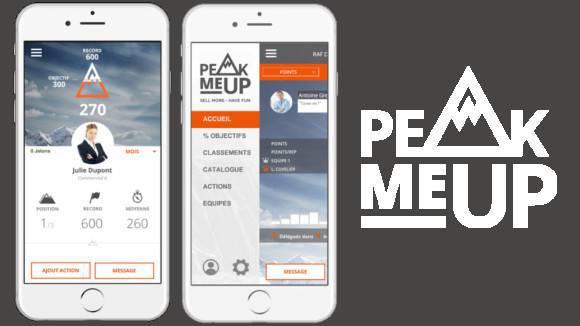Peak Me UP : Gestion challenge commercial