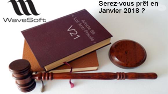 Logiciel conforme article 88, loi anti-fraude à la TVA Janvier 2018 ?