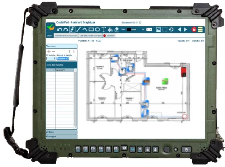 Devis chantier sur tablette : CodialPad