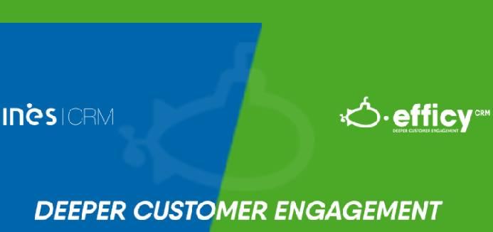 INES CRM rejoint le groupe Efficy, spécialiste de la gestion de la relation client